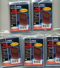 ACEO  500 soft plastic card sleeves  5 packs of 100 SFA