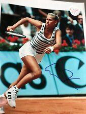 ANNA KOURNIKOVA HAND SIGNED 8x10 COLOR PHOTO      VERY SEXY Tennis Position.