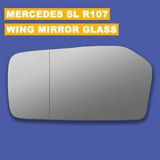 For Mercedes SL-Class R107 wing mirror glass 71-89 Left side Blind Spot