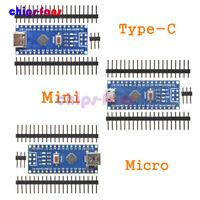 1/2/5/10PCS Nano V3.0 5V USB Mini/Type-C/Micro ATmega328 CH340G Kit For Arduino