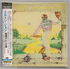 "ELTON JOHN ""GOODBYE YELLOW BRICK ROAD"" JAPAN Mini LP CD 2001 UICY-9107 *SEALED*"