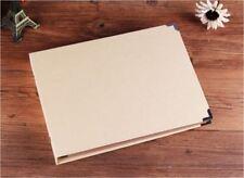 DIY Black 30Pg *CREATE YOUR OWN COVER* Blank Kraft Photo Album Wedding Scrapbook