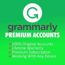 🔥Grammarly Premium Account + Free Bonus Backup Account with Lifetime Warranty✔️
