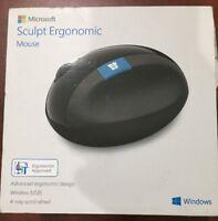Microsoft Sculpt Comfort Ergonomic Bluetooth Mouse
