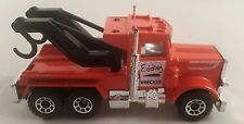 matchbox peterbilt truck 1981 eddies wrecker - matchbox 1981 eddie wrecker truck
