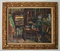 """OTHON FRIESZ (1879-1949) """" L'atelier de l'artiste, Paris, 1943"""" Dufy Manguin"""