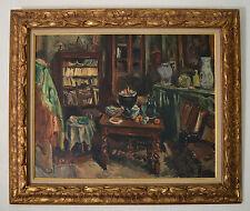 """OTHON FRIESZ (1879-1949) """" L'atelier de l'artiste, Paris, 1943"""""""