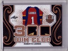 ROBERTO LUONGO 17/18 Leaf Masked Men 300 Win Club Dual Patch #7/15 NICE & RARE!