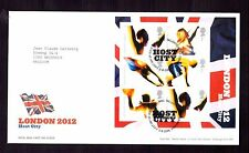 GREAT BRITAIN 2005 Olympics Host City M/S FDC used