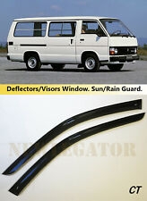 For Toyota HiAce (H50) 1982-1989, Windows Visors Deflector Sun Rain Guard Vent