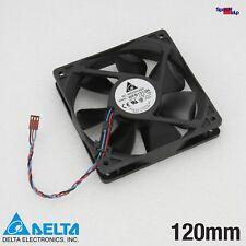 Delta WFB1212H System Cooler Fan 120x120x25MM 25MM 120MM 3-PIN 12V Ball Beari