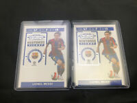 2019/20 Chronicles Contenders Historic Ticket #LM Lionel Messi Barcelona SOCCER