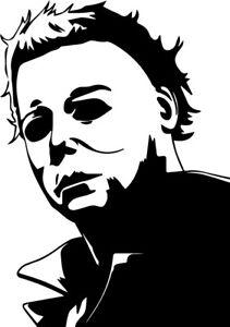 Michael Myers vinyl decal sticker Halloween Carpenter Horror monster