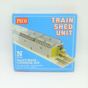 Peco N Gauge Train Shed Unit Kit (NB-80) - Great Condition