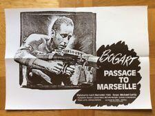 Passage to Marseille (A2-Kinoplakat '77) - Humphrey Bogart / Claude Rains