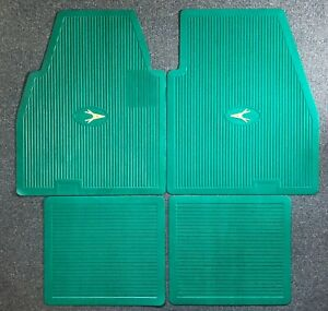 1955-1962 Plymouth Dodge DeSoto Chrysler Imperial Floor Mats Set GREEN