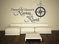 Wall Decal Vinyl Sticker Sign Narnia North Rose Compass Ship Trip Sailor r487