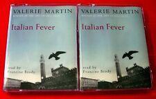 Valerie Martin Italian Fever 4-Tape Audio Book Francine Brody