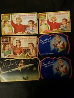 Vintage Sewing Needles 6 Packages 3 Sewing Susans,  2 Sweetheart Needle Books...
