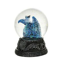 Quiksilver Dragon Water Globe with Glitters 80mm Home Decor Gift Collectible