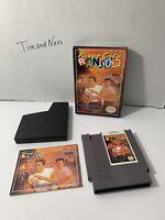 River City Ransom Authentic Nintendo NES Complete CIB  Nice Box