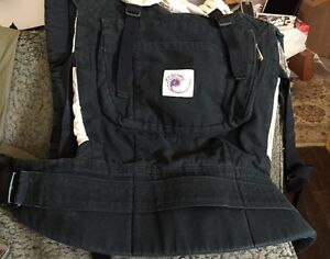 Ergo Baby Carrier - Black Good Condition