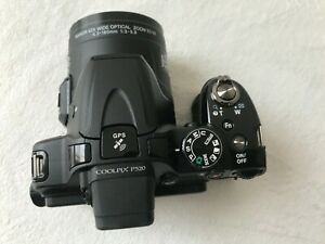 Nikon Coolpix P520 Digital Camera Black for PARTS/REPAIR - Black