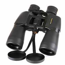 High Power Zoom 10-22x50 Binoculars Bak4 Porro Prism w/ Carry Case & Strap