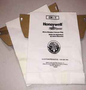 Honeywell Micro-filtration Vacuum Bags CN-1. 2 Bags. No Box