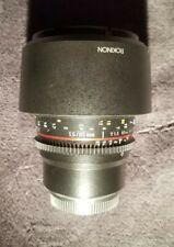 Rokinon Cine DS DS85M-C 85mm T1.5 AS IF UMC Full Frame Cine Lens (Micro 4/3)