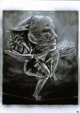 Surrealism Contemporary Art Pencil Original drawing on paper A4 Balance of life