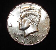 2002 D  Kennedy Half Dollar BU Uncirculated  Flat fee ship