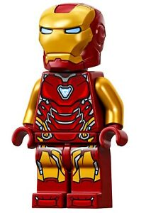 LEGO Marvel Avengers Endgame - Iron Man Mark 85 Armor Minifigure 76131 76192 NEW