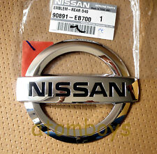 GENUINE NISSAN FRONTIER NAVARA D40 Brute REAR BADGE LOGO TRUNK EMBLEM 05-12
