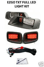 EZGO TXT 1996-2013 Adjustable (FULL LED) LIGHT KIT, LED Headlight & Tail Light