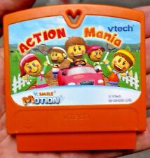 2009 VTech VSmile Motion Action Mania Game Cartridge TESTED WORKING