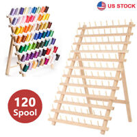 SAND MINE 120 Spool Thread Holder Thread Rack 2 Pack Sewing and Embroidery Thread Holder