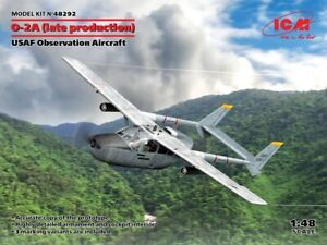 ICM 48292 - 1/48 - O-2A (late production) USAF Observation Aircraft scale model