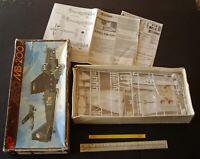 c1980 Vintage Czechoslovakian KP Kit 1:72 Aero MB-200/21 Bomber c1938