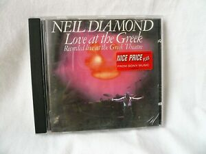 Live At The Greek *** NEIL DIAMOND ***  Recorded live at the Greek Theatre 1977