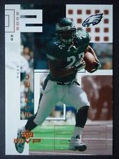 NFL 180 Duce Staley Philadelphia Eagles Upper Deck MVP 2002