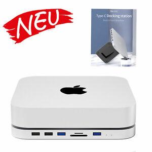 USB-C Hub Dockingstation für Apple Mac mini M1 mit 2.5'' HDD - silber ⭐⭐⭐⭐⭐