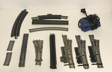 LOT OF 21 PIECES HO TRAIN TRACKS MIXED PECO BACHMANN LIFELIKE TYCO + Transformer