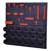 Stapelboxen Werkzeugwand 18 Schwarz Boxen Montagewand