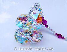 m/w Swarovski BIG AB 24mm Lily FUCHSIA Octagon Suncatcher Lilli Heart Designs