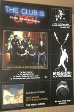 "Guided By Voices MEGA-RARE 2004 Matador Record Co Poster ""GOING OUT OF BUSINESS"""
