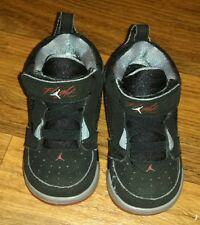 Nike Flight Baby Toddler JORDAN Black Size 6 C Baby Shoes