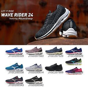 Mizuno Wave Rider 24 / Waveknit ENERZY Men Women Road Running Shoes Pick 1