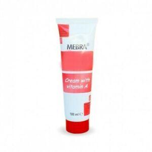 MEBRA Vitamin A Retinol Cosmetic Cream Dry Skin Aging Acne Burns 100ml