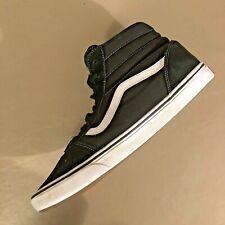 VANS Sk8-Hi  Men's Black Suede/Canvas Mid Sneakers Size  13 skate High